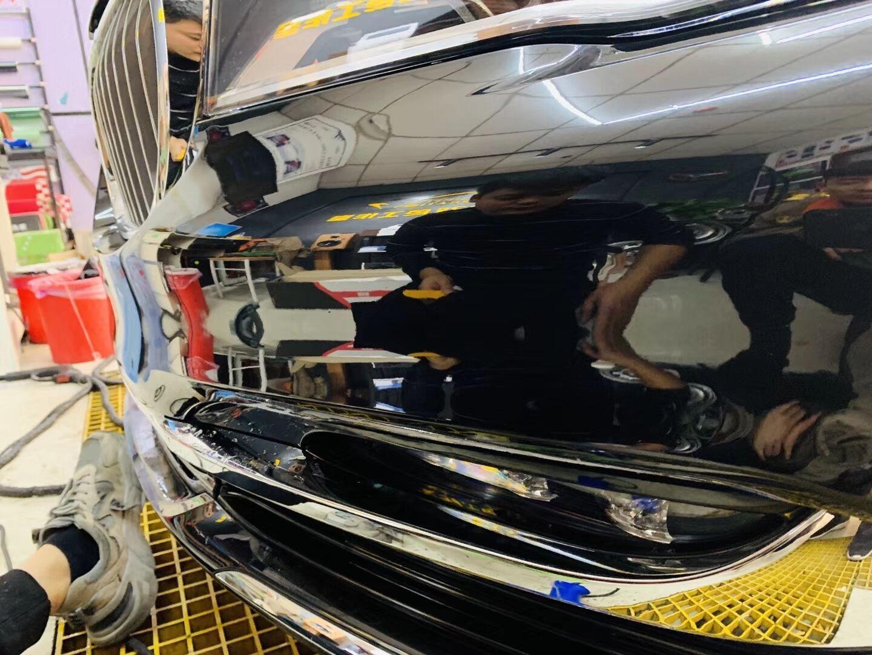 又一台宝马740施工法国, HEXIS漆面保护膜,开始干活(图3)